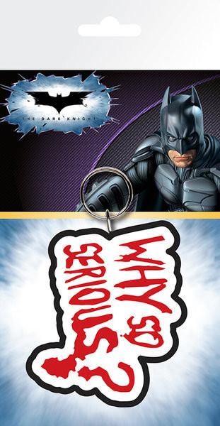 Batman - The Dark Knight Joker Why So Serious Breloczek