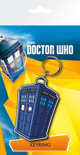 Doctor Who - Tardis Illustration Breloczek