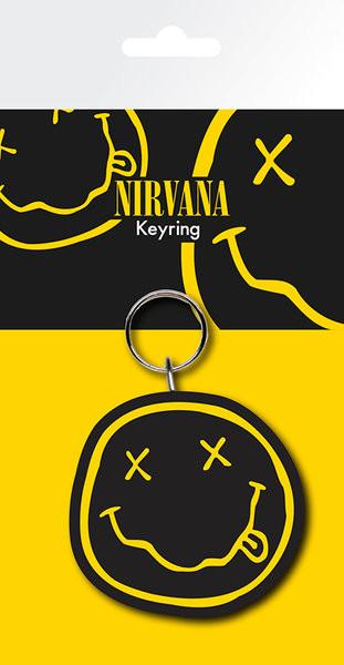 Nirvana - Smiley Breloczek
