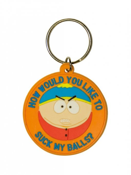 SOUTH PARK - Cartman / suck my balls Breloczek