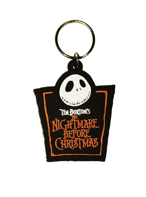 THE NIGHTMARE BEFORE CHRISTMAS - Jack Logo Breloczek