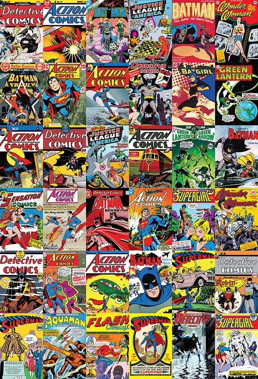 DC Comics Covers Fototapeta