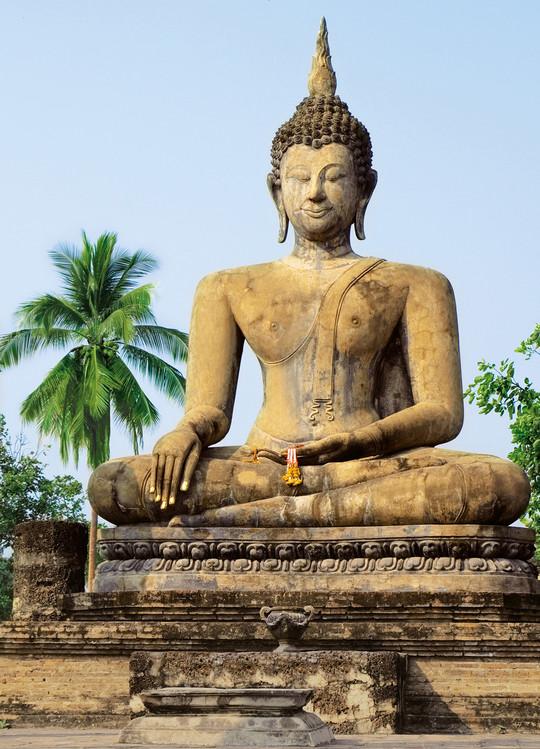 SUKHOTAI - wat sra si temple Fototapeta