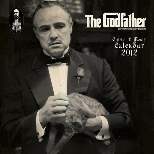 Calendar 2012 - THE GODFATHER Kalendarz