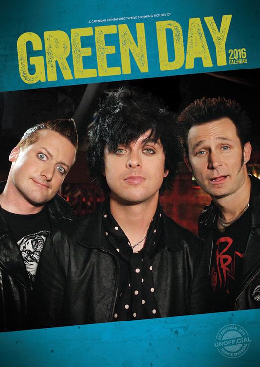 Green Day Kalendarz