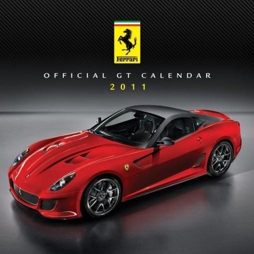 Kalendar 2011 - FERRARI Kalendarz