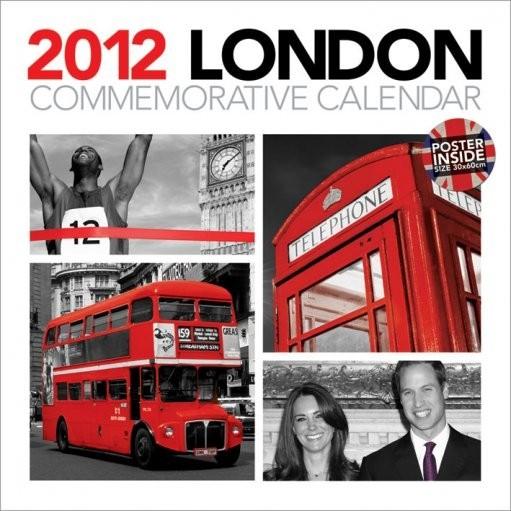 Kalendarz 2012 - LONDON Kalendarz