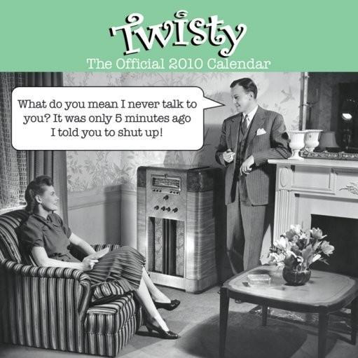 Official Calendar 2010 Twisty Kalendarz
