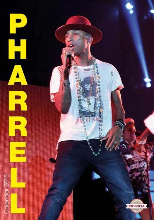 Pharrell Williams Kalendarz