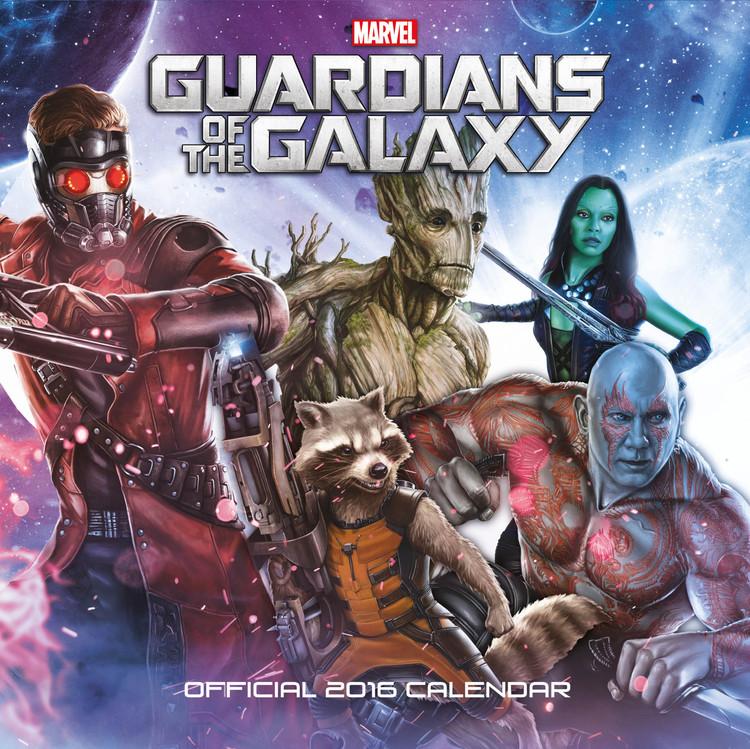 Strażnicy Galaktyki Kalendarz