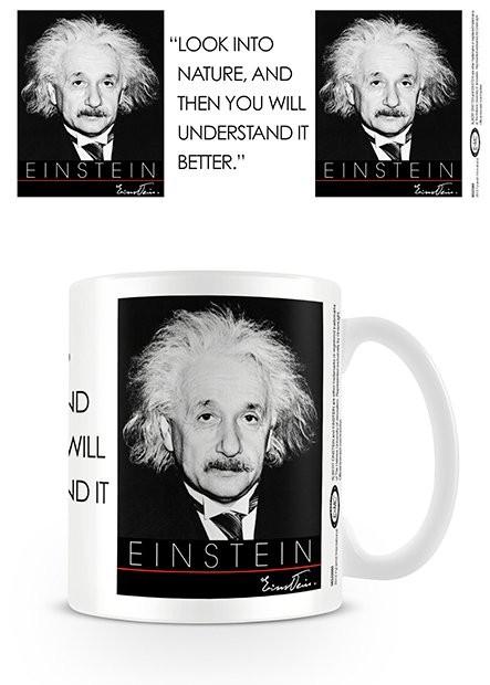 Albert Einstein - Nature Kubek