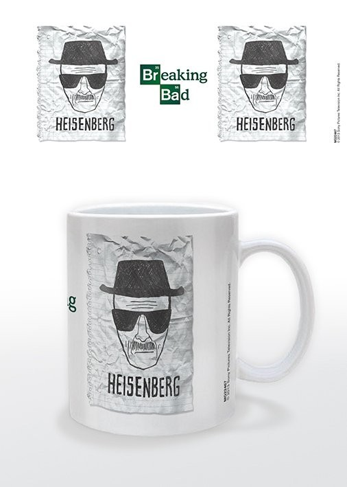 Breaking Bad - Heisenberg Wanted Kubek