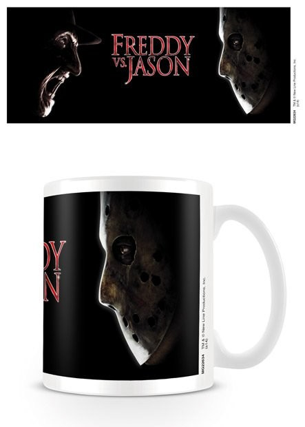 Freddy kontra Jason - Face Off Kubek