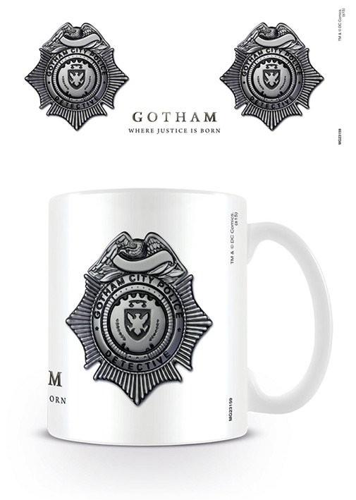 Gotham - GCPD Badge Kubek