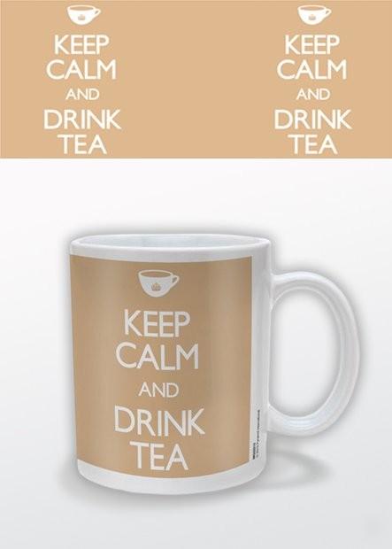 Keep Calm and Drink Tea Kubek