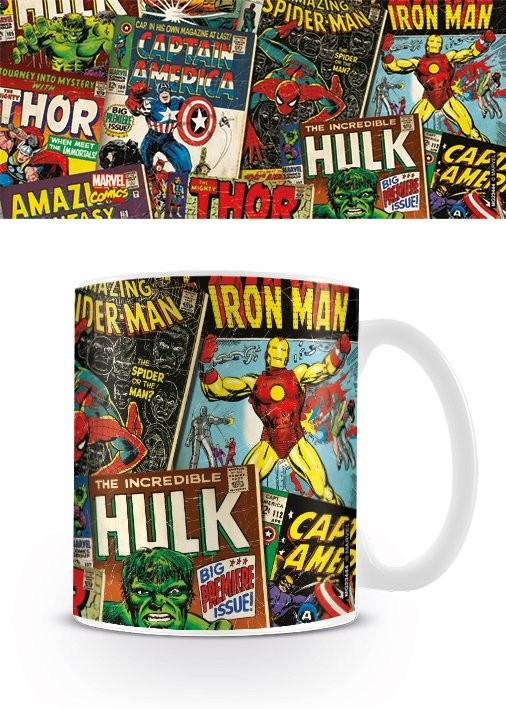 Marvel Retro - Covers Kubek