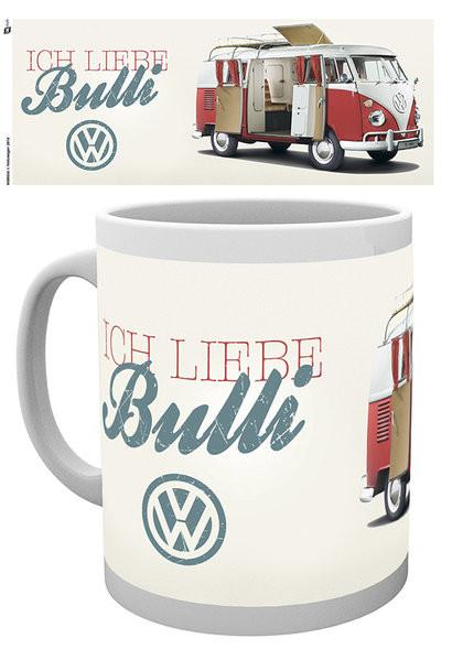 VW Volkswagen Camper - Ich Liebe Bulli Kubek