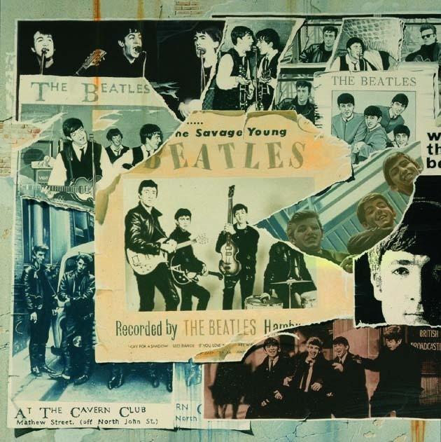 Metalowa tabliczka ANTHOLOGY ALBUM COVER