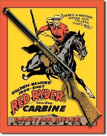 Metalowa tabliczka DAISY RED RYDER CARBINE