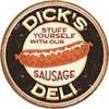 Metalowa tabliczka DICK'S  SAUSAGES