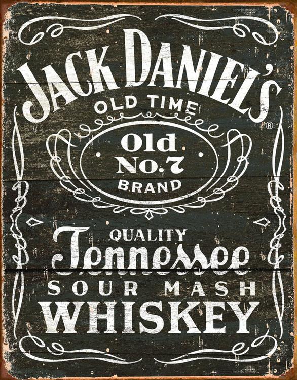 Metalowa tabliczka JACK DANIEL'S  VINTAGE LABEL