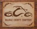 Metalowa tabliczka OCC LOGO