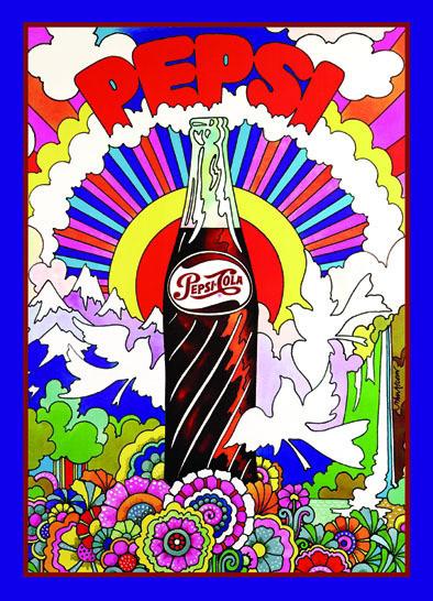 Metalowa tabliczka PEPSI 1969
