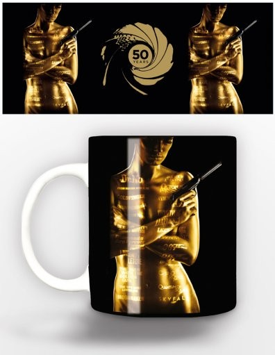James Bond - 50th anniversary Mug