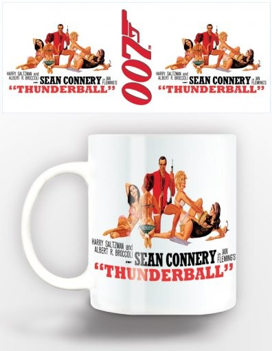 James Bond - thunderball Mug
