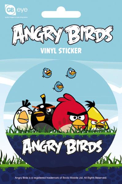 Naklejka Angry Birds - Group