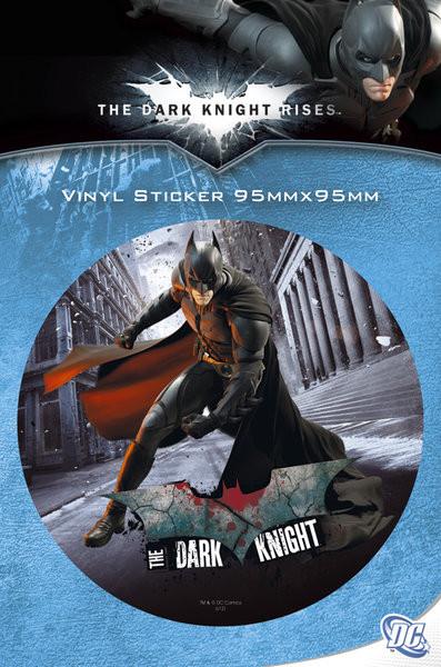 Naklejka BATMAN DARK KNIGHT RISES - batman