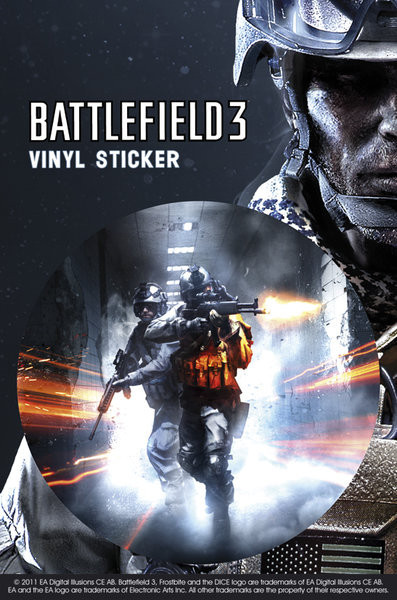 Naklejka Battlefield 3 – co.op