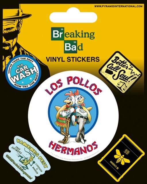 Naklejka Breaking Bad - Los Pollos Hermanos