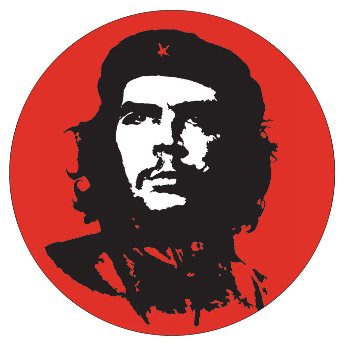 Naklejka CHE GUEVARA - red