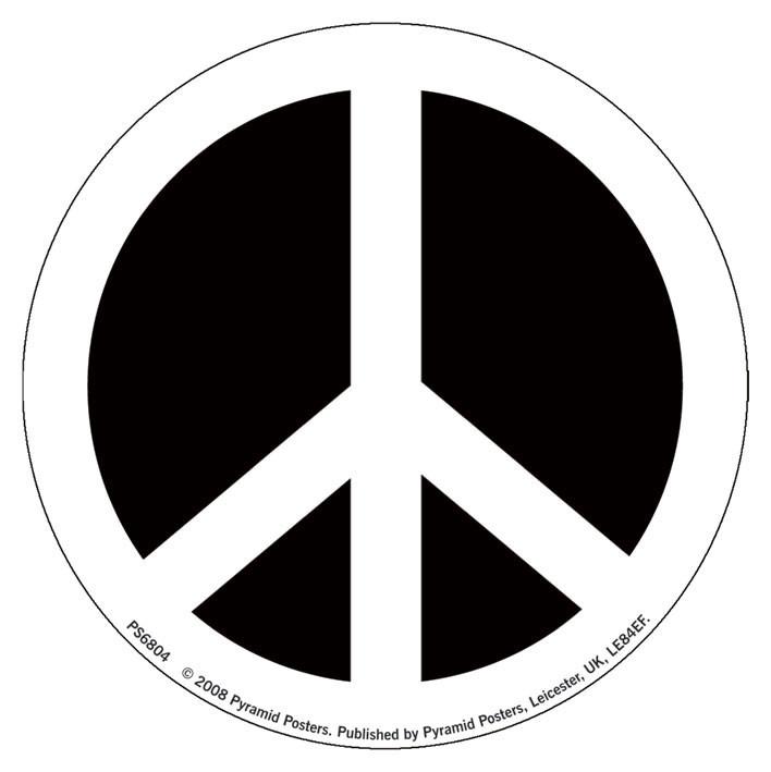 Naklejka CND - symbol