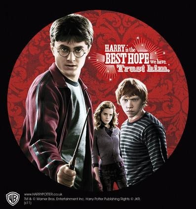 Naklejka HARRY POTTER – trio