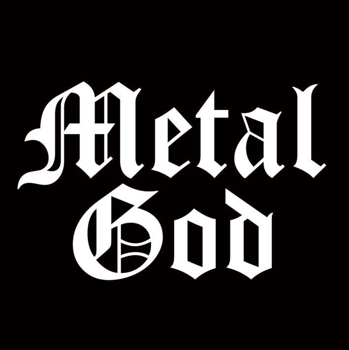 Naklejka METAL GOD