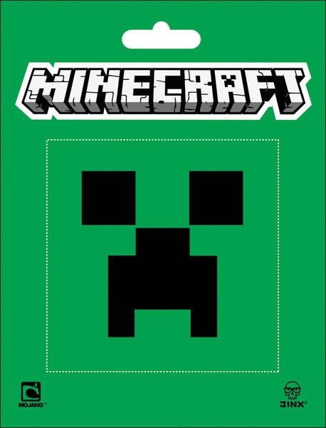 Naklejka Minecraft - creeper