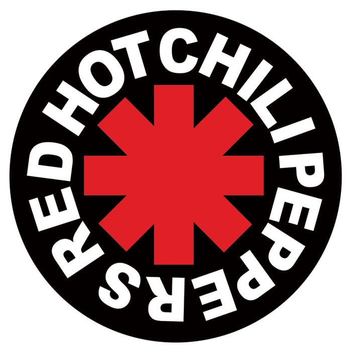 Naklejka RED HOT CHILI PEPPERS - logo