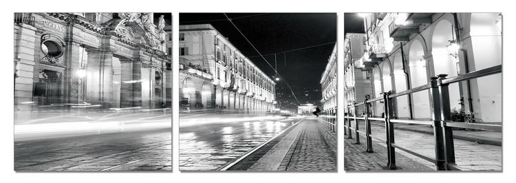 Turin - Night Rush Obraz