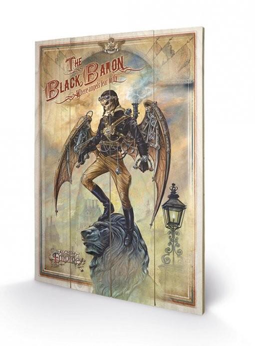 Obraz na drewnie ALCHEMY - the black baron