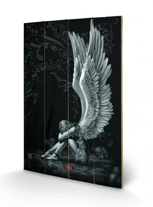Obraz na drewnie Spiral - Enslaved Angel