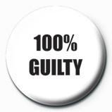 Odznaka 100 % GUILTY
