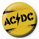 Odznaka AC/DC - Yellow stencil