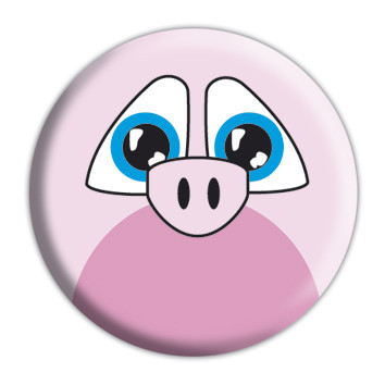 Odznaka ANIMAL FARM - Piggy