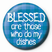 Odznaka BLESSED ARE THOSE WHO DO M