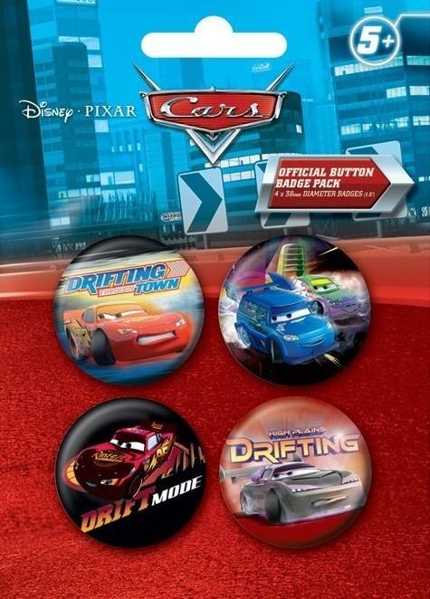 Odznaka CARS DRIFT 2