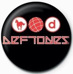Odznaka DEFTONES - LOGO