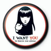 Odznaka Emily The Strange - i want you