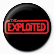 Odznaka EXPLOITED (RED LOGO)